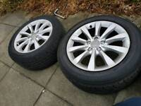 Audi 17 inch alloys