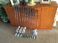 Full set of Ladies Mitsushiba Golf Clubs brand new condition - used once. 3 woods, putter, SW-4 iron