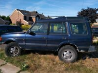 Land Rover Discovery for repair
