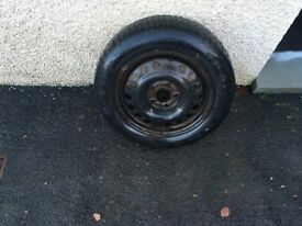 Tyre and rim, 195/60/R15