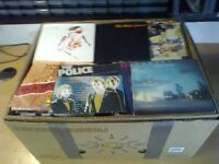 7 inch records over 400 job lot