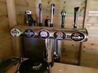 Pub beer pumps