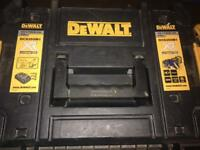 Dewalt xr brushless oscillating multitool drill jigsaw planer 4ah battery