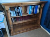 Solid Pine-Wood Bookcase