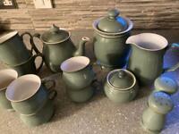 Regency green tea time Denby set