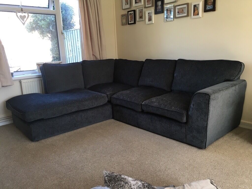 Charcoal Grey Corner Sofa In Portsmouth Hampshire Gumtree