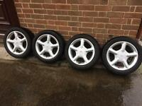 Ford Escort GT wheels and Tyres