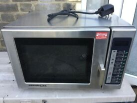 Menumaster RFS511TSW Commercial Microwave 1100W