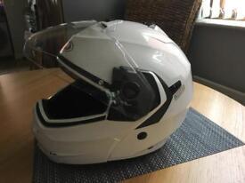 Motorcycle flip helmet Bluetooth