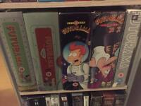 Futurama season 1-4 plus all epics