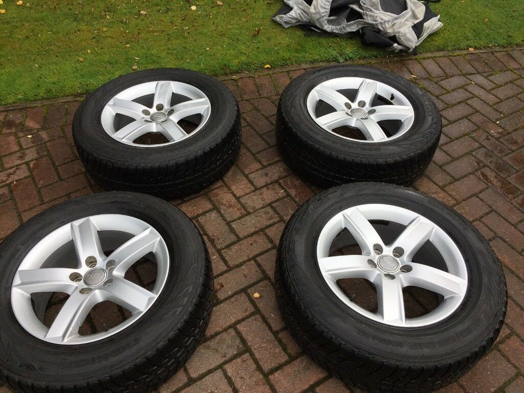 AUDI WINTER WHEELS AND TYRES 235/65/17