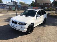 BMW X5 3.0 petrol and lpg White 2001