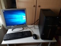 """Acer Aspire TC-120 desktop with 17"""" monitor"""