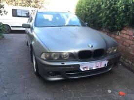 BMW E39 530D M sport manual **breaking for parts**