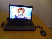 Laptop HP 625, Windows 10, $GB RAM memory, 500 GB HDD, HDMI, webcam, USB mouse