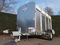 IFOR WILLIAMS TRAILER P8 LIVESTOCK FARM CANOPY CATTLE MARKET PIG SHEEP ANIMAL SMALL HOLDING PIG LAMB
