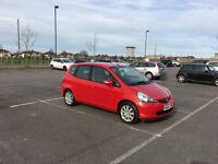 Honda Jazz 1.4 SE Petrol Manual 5 Door Metallic RED 2 Lady Owners