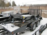 2015 Advantage 5x10 Utility Trailer LS510