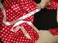 Minnie Mouse Woman's Costume - fancy dress