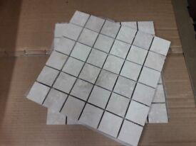 BN Mix Tumbled Mosaic Travertine Wall Tiles