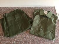Army Olive Green Shirt and Trousers
