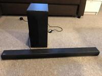 LG LAS455H TV SOUND BAR & SUBWOOFER