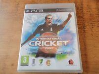 Play Station 3 - International Cricket 2010