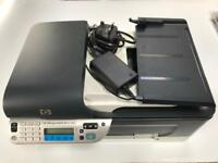HP Officejet J4680 All-in-One Inkjet Printer Scanner Fax WiFi