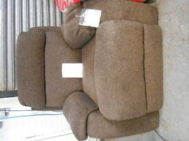 Ex display Brown Fabric Armchair