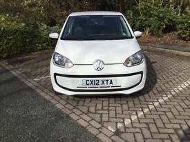 VOLKSWAGEN MOVE UP BLUEMOTION TECHNOLOGY - £0 FOR TWELVE MONTHS ROAD TAX !