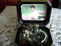 Elvis Presley Gracelands Music Box Ardleigh Elliott 2003