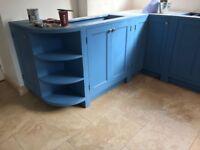 Base unit open300mm/800mm- handmade - bespoke - solid wood - pine - oak - kitchen unit -BUSH-300-800