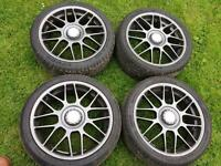 BBS RC336 Golf MK4 Anniversary Alloy Wheels 5x100 Genuine OEM 18inch