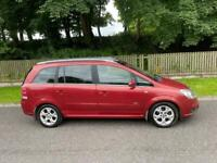 7 Seater Vauxhall Zafira 1.8 Design, Only 79,000 Miles, Full Service History, Panoramic Glass Roof