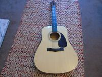 Fender Dreadnought Acoustic Guitar DG5NAT