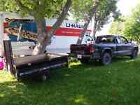 Truck and trailer for hire!