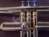 Yamaha 2335 brass trumpet