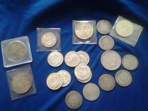 Buying coin collections, old money, all silver, gold +