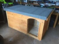 *New Large Dog Kennel with Porch*(Box,Run,House,Bed,Heavy Duty Timber)