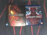 Spider-Man Blu Ray collection