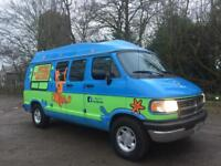 Chauffeur driven Mystery Machine for Proms, Weddings, TV work, any events, great wedding car prom