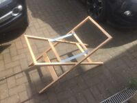 Wooden Moses Basket Stand OBABY