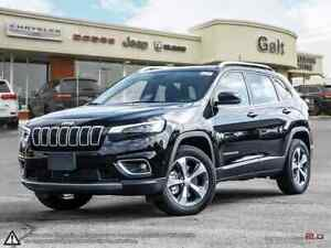 2019 Jeep New Cherokee LIMITED 4X4 | LEATHER SUNROOF NAV UCONNEC