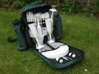 Picnic set in a ruck sack