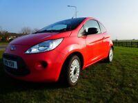 Ford KA studio 1.25 petrol 12 months M.O.T