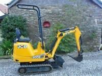 2012 JCB 8008 Micro Mini Digger 920 Hours