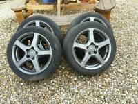 5x114.3 R17 alloy wheels honda nissan mazda hyundai toyota kia lexus mitsubishi