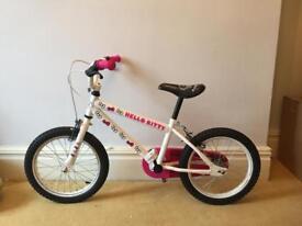 "16"" wheels Hello Kitty Bicycle Bike Girls"