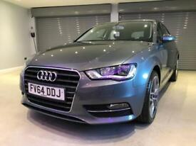 AUDI A3 1.6 TDI SE 5d 109 BHP FREE DELIVERY TO YOUR DOOR (grey) 2014