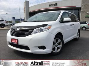 2012 Toyota Sienna CE Standard Package. Keyless Entry, Alloy's,
